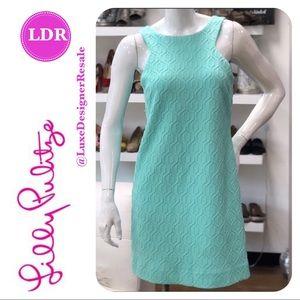 Lilly Pulitzer Mango Shift Pool Side Blue Dress